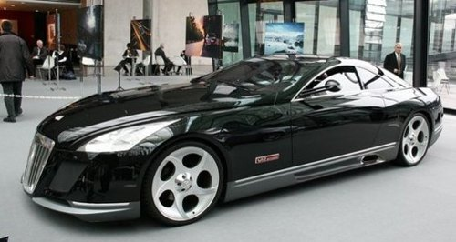 The $8million Maybach Exelero